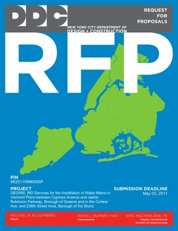 REI Services for the Installation of Water Mains in Vermont Place ...