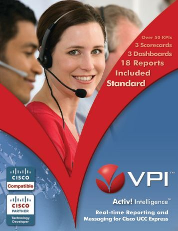 VPI Introduces Robust, Cost Effective Real-time Reporting for Cisco ...