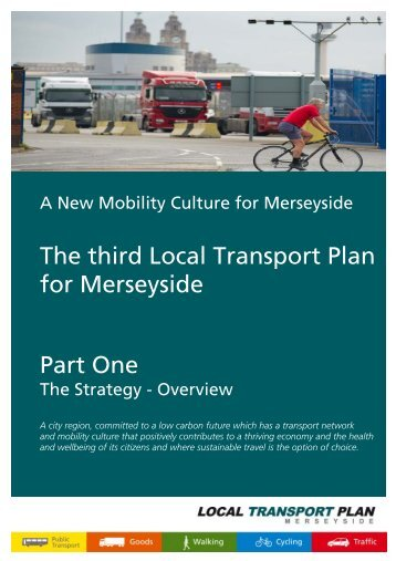 The Strategy - the TravelWise Merseyside website