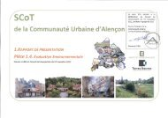 Evaluation Environnementale - Alençon