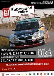 Programmheft (.pdf) - Rebenland Rallye