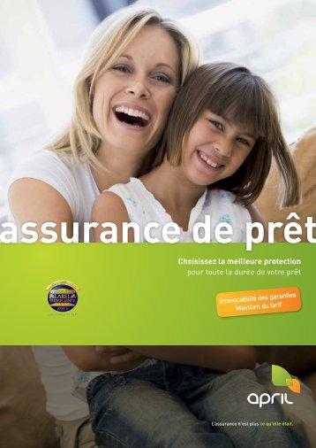 Assurance de prêt : une assurance APRIL