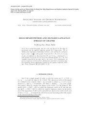 Applicable Analysis and Discrete Mathematics EDGE ...