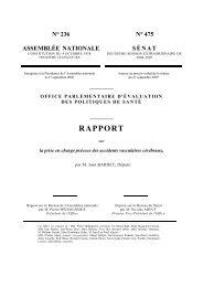 La prise en charge précoce des AVC - Assemblée nationale