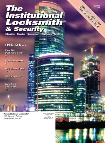 pdf/TIL Summer 2008.pdf - The National Locksmith