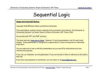 lecture 03 sequential logic