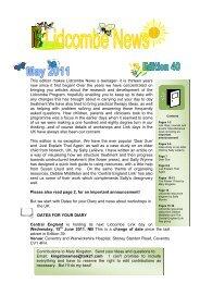 Lidcombe News Edition 40th - Montreal Fluency