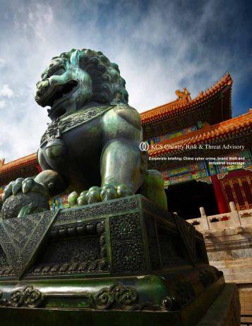 Chinese cyber espionage essay