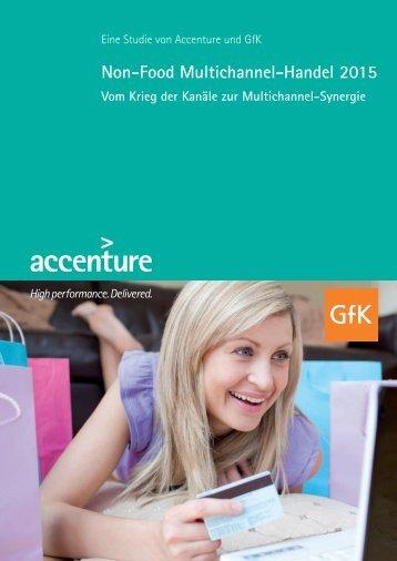 3. Prognose Non-Food-Multichannel- Handel 2015 - Accenture