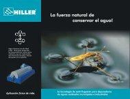 La fuerza natural de conservar el agua! - Hiller GmbH
