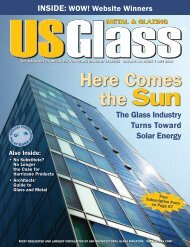 USGlass - July 2008 - USGlass Magazine