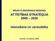 No Slide Title - Rīgas Plānošanas Reģions