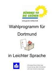 Kommunalwahlprogramm 2009 in Leichter Sprache PDF 3,51 MB