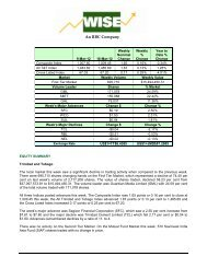 An RBC Company - WISE :: West Indies Stockbrokers Limited