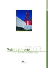 Rapport annuel de l'industrie cimentière belge en 2003 - Febelcem