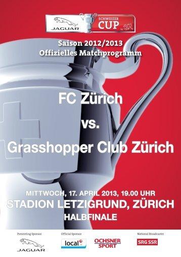 Schweizer-Cup-Halbfinale - FC Zürich