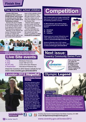 Edition 18 (1.24 MB) - Coventry 2012