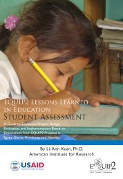 Student Assessment - Education Policy Data Center