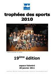 Trophées des sports 19ème édition - Cahors