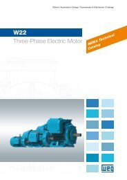 W22 Three-Phase Electric Motor - Stevens Drives & Controls