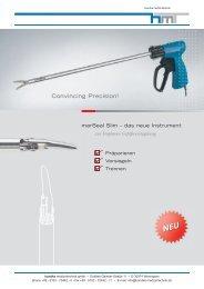 90-269-01 MicroStop dt.qxd - Handke Medizintechnik