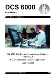 CDA User Manual v3.3 - DIS