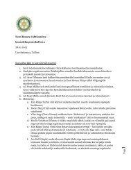 Page Eesti Rotary Juhtkomitee koosoleku protokoll nr.1 28.01.2013 ...