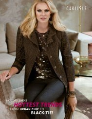 HOTTEST TRENDS - Carlisle Collection