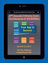 3rd Annual Private Duty Conference & Exhibition - Missouri Alliance ...