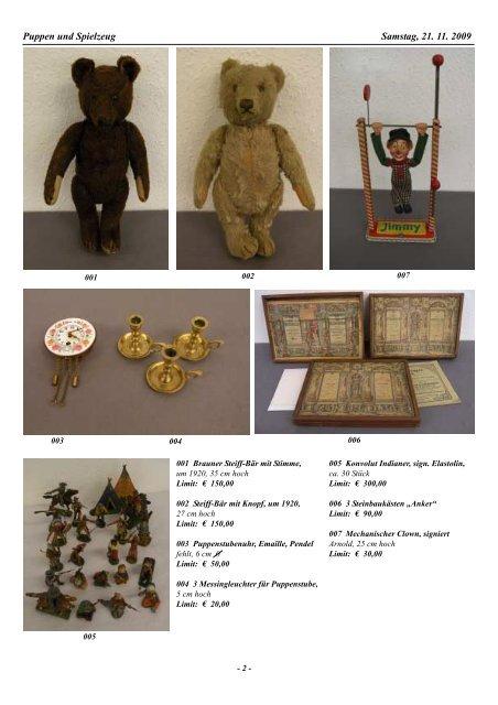 36. Auktion Auktionsvorschau