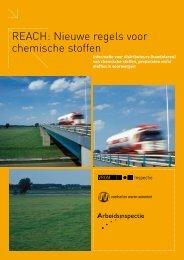 REACH Nieuwe regels voor chemische stoffen ... - Inspectie SZW