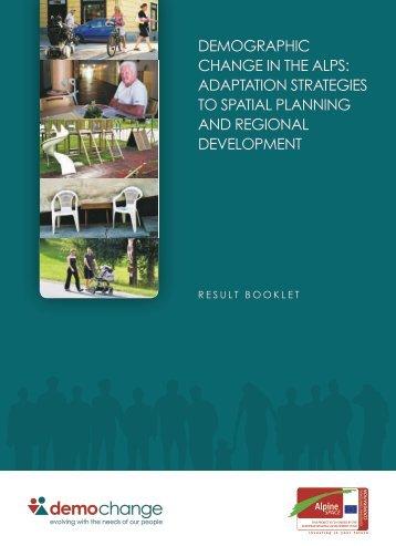 aDaptation strategies to spatial planning anD regional Development