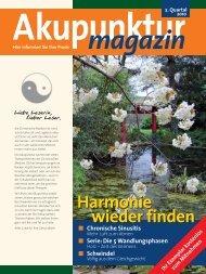 Akupunktur 2. Quartal 2010