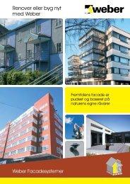 Isolerende facadesystemer - Weber