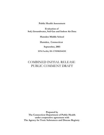 Draft Public Health Assessment - Newhall Remediation Project
