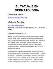 79 – el tatuaje en dermatologia - Antonio Rondón Lugo