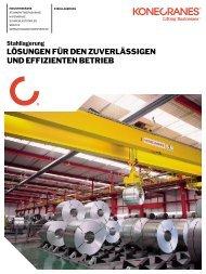 Stahlindustrie Lösungen für die Stahllagerung PDF ... - Konecranes