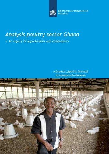 Pluimveesector in Ghana
