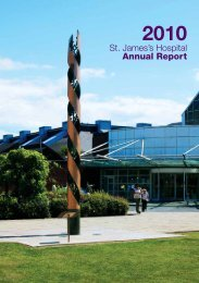 Annual Report 2010 - St. James's Hospital