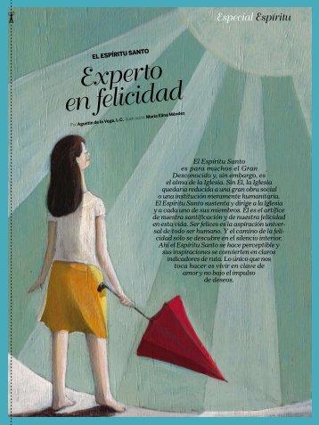 Especial Espíritu Experto en felicidad - Revista Misión
