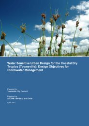 Water Sensitive Urban Design for the Coastal Dry Tropics ...