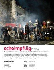 The Scheimpflüg Principle is named after the Austrian - Scheimpflug ...
