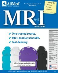 MRI Accessories from A - Alimed