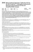 Neisseria gonorrhoeae (CT/GC) Qx Amplified DNA Assays - BD - Page 2