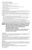 Neisseria gonorrhoeae (CT/GC) Qx Amplified DNA Assays - BD - Page 3
