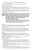 Neisseria gonorrhoeae (CT/GC) Qx Amplified DNA Assays - BD - Page 7
