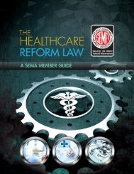Health Care Reform Law - Sema