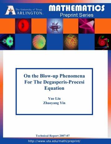 On the Blow-up Phenomena For The Degasperis-Procesi Equation