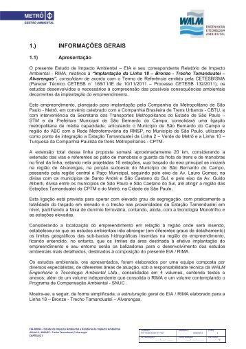 Arquivo 01 - Metrô - Governo do Estado de São Paulo