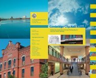 'Collaborative Leadership and Forward Thinking Result in the City's ...